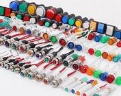Luces indicadoras del panel & gauges
