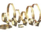 Abrazadera de acero galvanisado