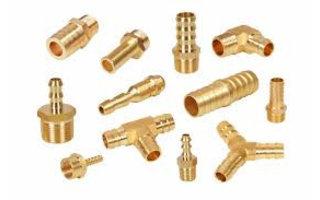 Brass hose barbs