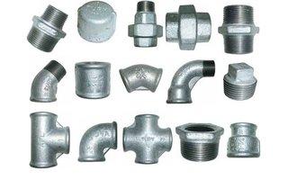 Malleable en staal fittingen