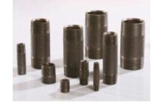 Pipe nipples steel (black)