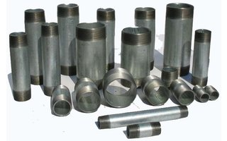 Pipe nipples steel (galvanized)