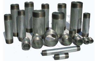 Racor de tubo acero (galvanizado)