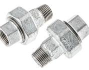 Union couplings (galvanized)