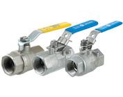 Brass valves (chrome-plated)