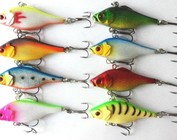 Lures & fish hooks
