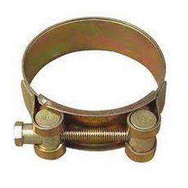 Barrel band hose clamp steel 75mm