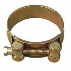 Abrazadera de manguera de banda de barril acero 81-93mm