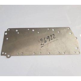 Quicksilver - Mercury 26922 Mercury Quicksilver Placa colectora de chapa de agua