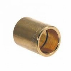 Solder nipple 15mm x 15mm  brass
