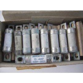 G&C Zekering HBC Brush 15A 059-0121. 12x53mm