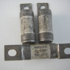 Zekering HBC Brush 15A 059-0124. 17x71mm