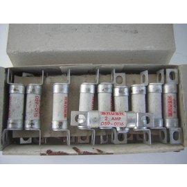 G&C Zekering HBC Brush 2A 059-0116. 12x53mm
