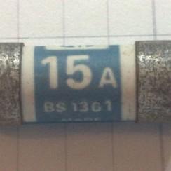 Zekering MEM 15A BS1361