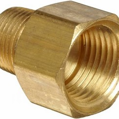 "Bushing female-male  1/4"" x 1/8"""