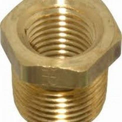 "Bushing male-female  1/2"" x 1/4"""