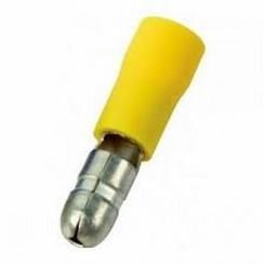 Terminal de cable de bala macho amarillo