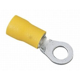 Ring loop cable terminal yellow 4.3 x M4