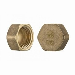 Cap stop HEX female 3/8""