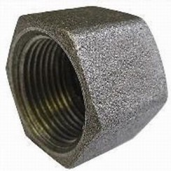 Cap stop HEX female 3/4""