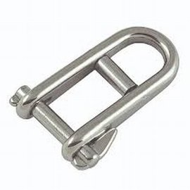 Halyard shackle Inox 8mm