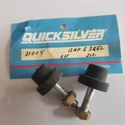 31014 Quicksilver Mercury Soporte de gomma