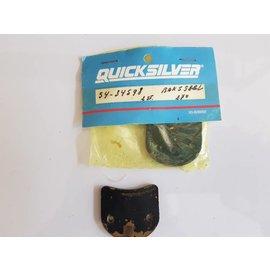 Quicksilver - Mercury 54-34598 Quicksilver Mercury Mantenga presionada la abrazadera de anillo