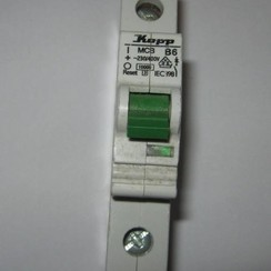 Kopp Circuit breaker 1 pole 6A B6