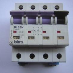 Iskra Zekering automaat 4 pole 400V-63N