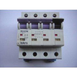 Iskra Iskra Circuit breaker 4 pole 400V-63N
