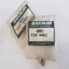 48003 Quicksilver Mercury Manija de dirección para pivote del soporte