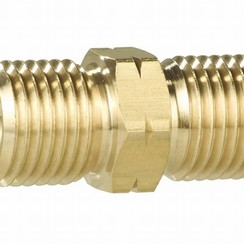 "Nipple GAS male 1/4"" x 1/4"""