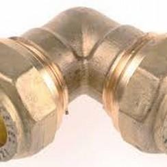 Racor de codo de compresión 12 x 12 mm