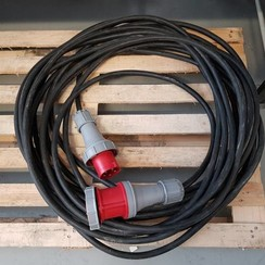 Flexibele rubberen verlengkabel 415V 5G-10 mm2 RV-K 0.6/1kV