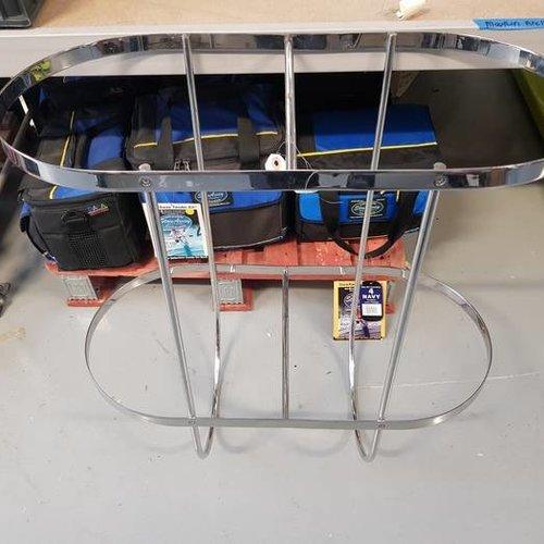 Plastimo Fender holder double hinged Inox 2 x 350 mm  H=700 mm
