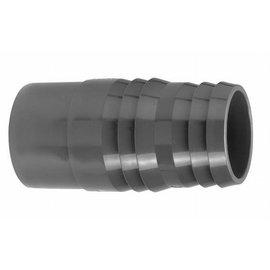 Entronque manguera PVCh 32 mm  x 31/34 mm macho