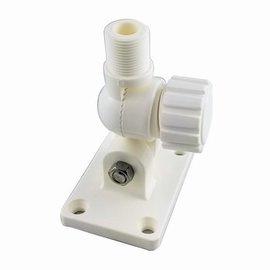 Ajustable mount for VHF antennas in nylon