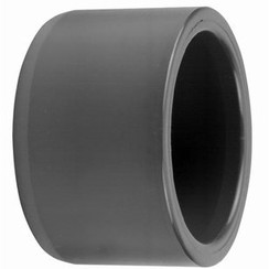 Manguito reforzado PVC- PN16 40 mm macho x 32 mm hembra