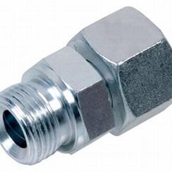 """Acero Racor de compresión-macho 10mm x 1/4""""  L10"""