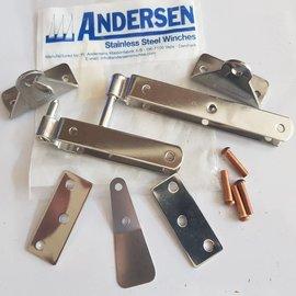 Andersen Andersen Inox gudgeon set