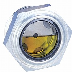 Threaded sight level glass 3/4""