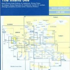 Imray kaart G121 - 2004