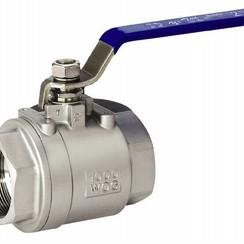 "Ball valve stainless steel 3/4"""
