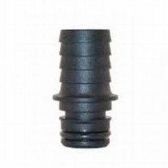 "Jabsco straight fitting male x hose barb 12mm - 1/2""  nylon"