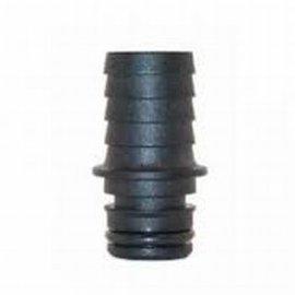 """Jabsco Jabsco straight fitting male x hose barb 12mm - 1/2""""  nylon"""