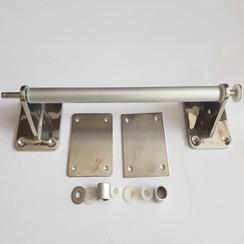 Handgreep inox-aluminium 380 x 90mm diam 20mmHandgreep inox-aluminium 380 x 90mm diam 20mm