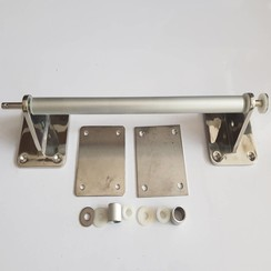 Manija inox-aluminium 380 x 90mm diam 20mm