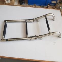 Swimming ladder inox  600 x 220 mm diam 22 mm