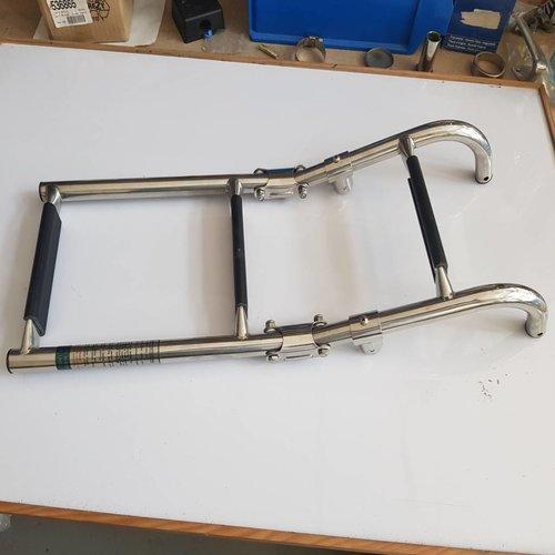 Vetus Swimming ladder inox  600 x 220 mm diam 22 mm
