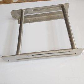 RC-Inox Escalera de baño 420 x 3000mm diam 25mm